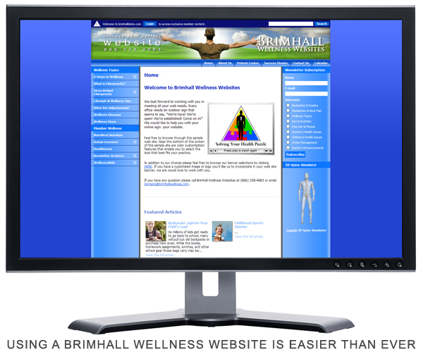 Using a Brimhall Wellness Website is Easier than Ever